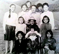 My Family 1988 in Mongolia