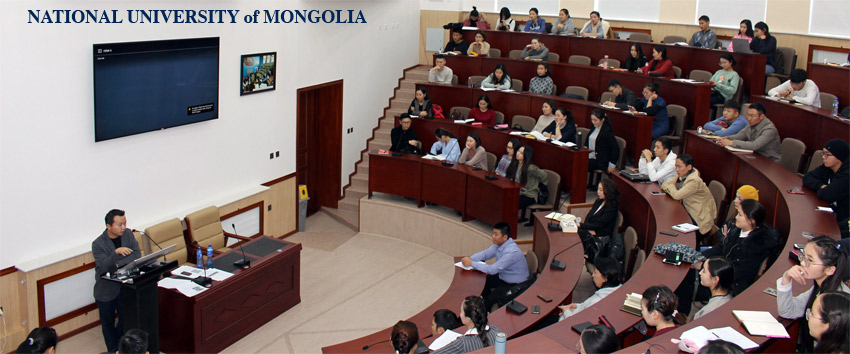 OTGO in the National University of Mongolia