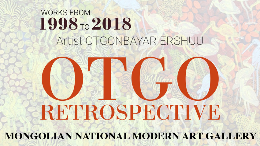 OTGO Retrospective at Mongolian National Art Gallery